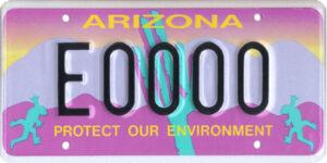 Arizona Environmental License Plate