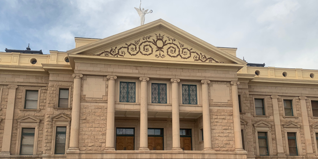 Old Arizona state capitol building, Phoenix, Arizona.