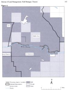 Map of BLM Battle Axe & A Diamond grazing allotments