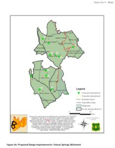 Poison Springs Allotment pasturemap, 2013
